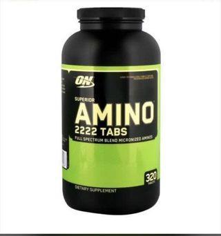 🚚 Optimum nutrition Amino 222
