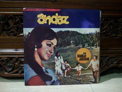 Lp...Vinyl...ANDAZ (Film Sound Track)