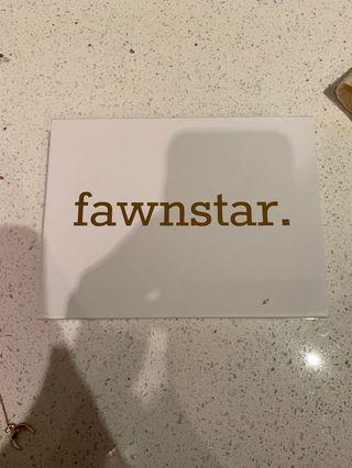 Fawnstar necklace