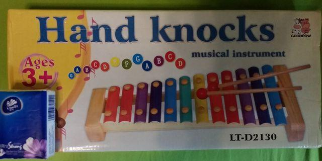 Hand Knocks Musical Instrument Age 3+