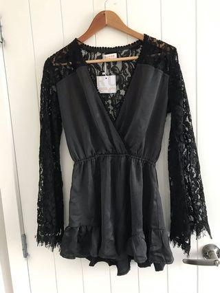 Brand new lace playsuit