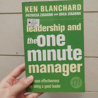 Leadership and one minute manager