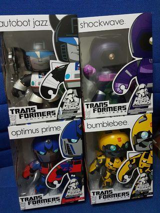 Mighty Muggs Transformers set of 4