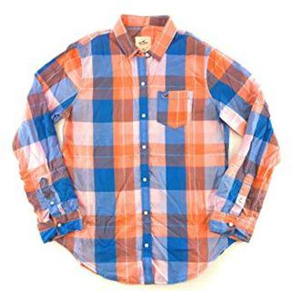 NEW Hollister Checked Shirt   全新Hollister格仔恤衫
