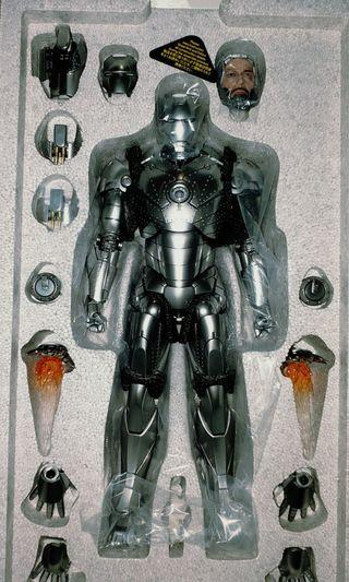 Hottoys mark2 ironman diecast
