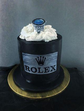Rolex Luxury Watch Celebration Cake