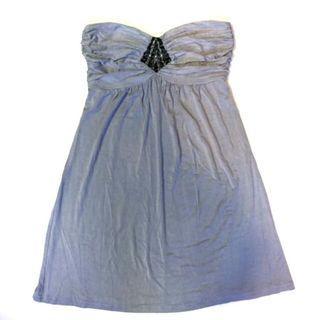 Love Bonito x Embellished Tube Dress / Long Top - BonitoChico