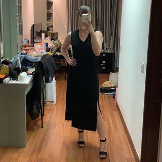 MANGO Slit Dress (M/L)