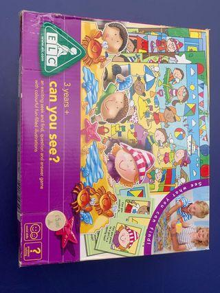 Original ELC game - Can you see ? 3 yrs old and above