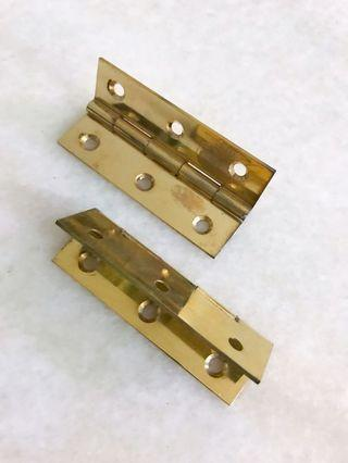 Door Hinges 1 Pair 3""