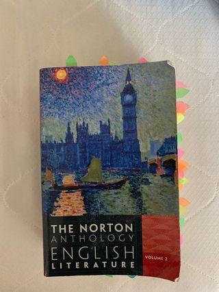 🚚 The Norton Anthology English Literate
