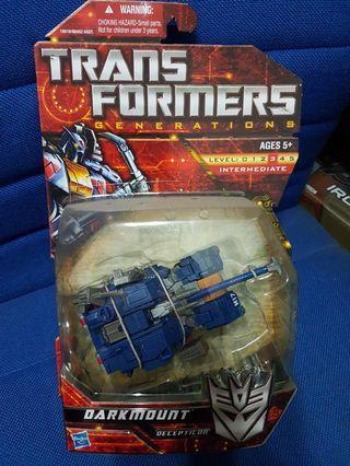 Transformers Generations Darkmount