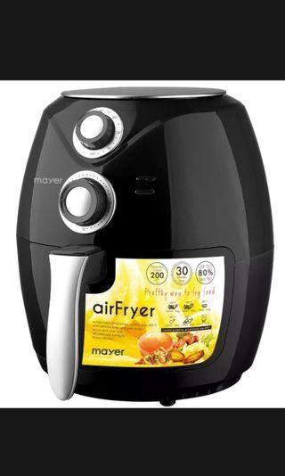 🚚 Mayer Air Fryer MMAF68 (Black)