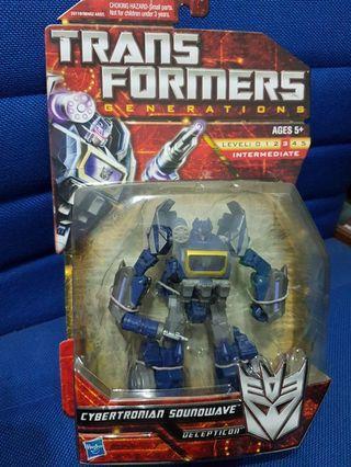 Transformers Generations Soundwave