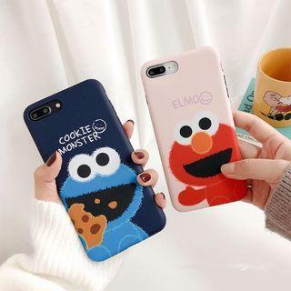 Elmo & Cookie Monster Iphone Case