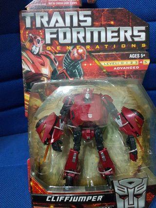 Transformers Generations Cliffjumper