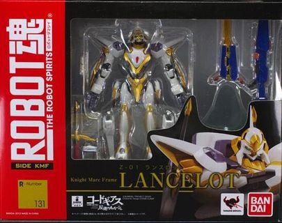 全新 Robot魂 131 lancelot 蘭斯洛特 code geass side kmf 131 knight mare frame Z-01 朱雀 可動 figure 高達 高達模型 Gundam 反逆的魯魯修 魯路修 叛逆 魯魯修 spirit Bandai