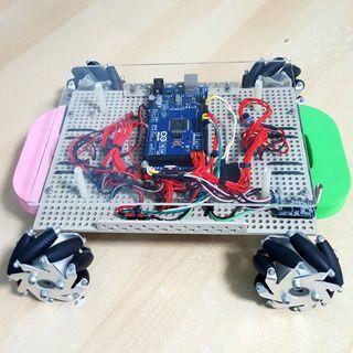 RC Mecanum Wheel Robot
