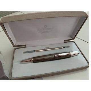 Waterford Kilbarry Ballpoint Pen, Guilloche Black