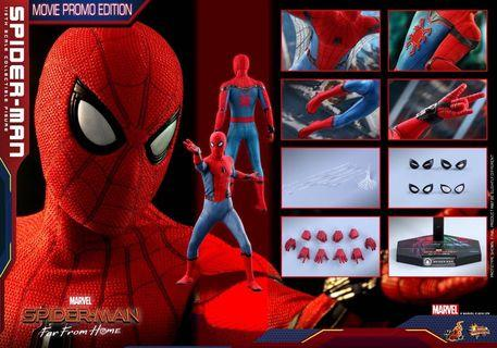 🚚 (RESERVED) Hot Toys Spider Man Movie Promo Far from Home MMS535