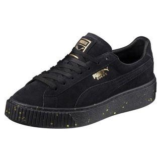 🚚 puma suede platform shoes