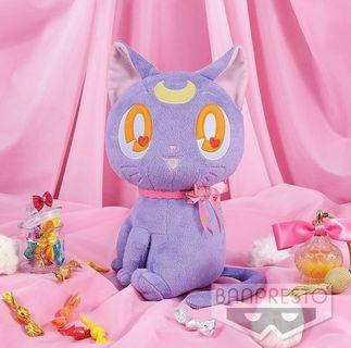 🎀 Sailor Moon – Luna Ribbon Large Plush 🌙