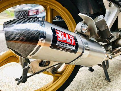 Yoshimura Tri-Oval Carbon ( 6 mths old As good as new )