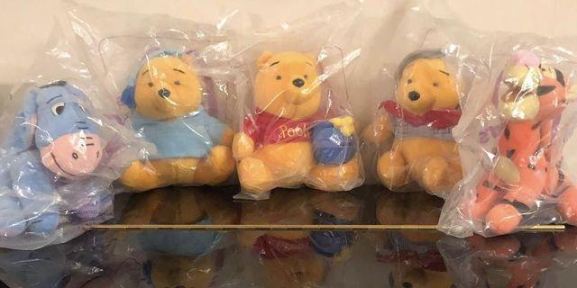Winnie the Pooh and his friends Mc Donald
