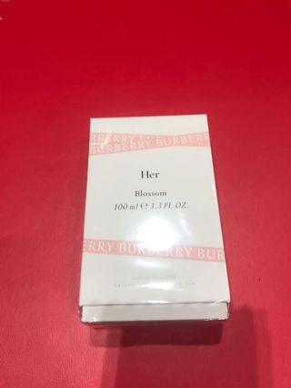 2019 夏 全新 Burberry her bloom EDT 100ml