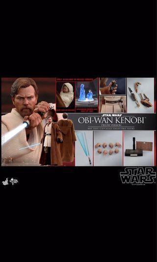 Hottoys Obi Wan Kenobi (Deluxe Ver) mms478 豪華版 Hot toys