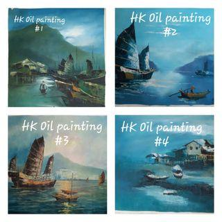 Reduced Price HK Classic Oil Paintings on Canvas