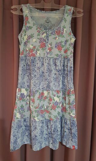 ESPRIT Blue Floral Dress