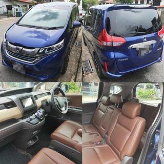 New Honda Freed Hybrid for rent/LTO