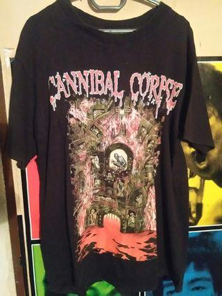 cannibal corpse tshirt 15 year