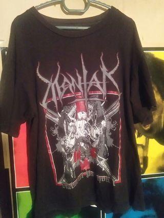 mantak tshirt black metal