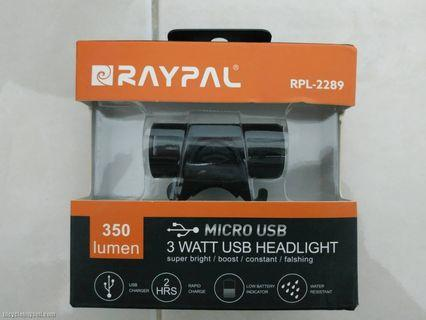 Raypal cycling front light