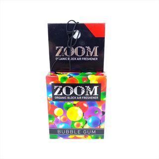 Parfum Mobil Zoom Organic Block Air Freshener Aroma Bubblegum