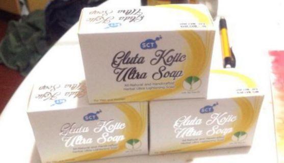 SCT kojic ultra soap