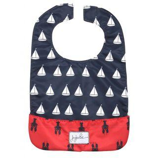 Brand New In Bag - Coastal Series Annapolis Be Neat Baby Bib Jujube JJB