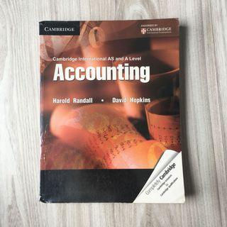 Accounting Cambridge International AS and A Level (Original)
