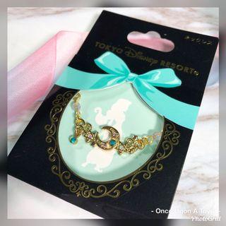 [現貨]茉莉公主 藍閃石月亮頸鏈