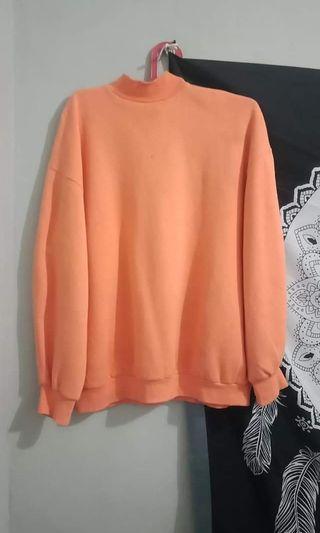 Sweater oversize // Turtleneck Bershka