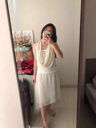 Long Dress - White