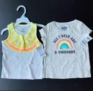 Carter's/Oshkosh T-shirt 18-24 months