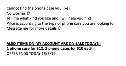 Helping to find suitable cases!
