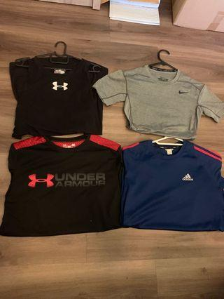 Assorted Branded Sports Apparel