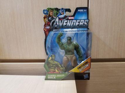 復仇者聯盟1 變形俠醫 3.75吋 Hulk Avengers 孩之寶 Marvel