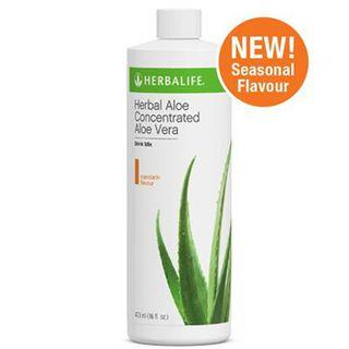 HERBALIFE HERBAL ALOE CONCENTRATE MIX (MANDARIN/ORANGE FLAVOUR)【100% ORIGINAL GENUINE HERBALIFE PRODUCT】