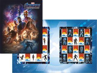 Marvel Avengers Endgame Australia post stamp