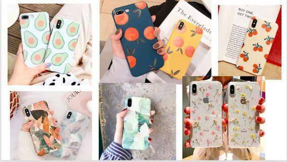 [PO OFFER] CHEAP AND CUTE IPHONE CASES